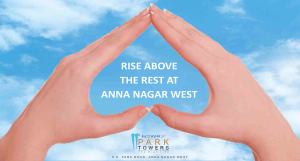 RISE ABOVE THE REST AT ANNA NAGAR WEST