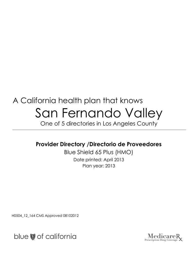 HealthCare Partners/San Fernando Valley
