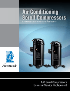 Air Conditioning Scroll Compressors