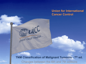 TNM Classification of Malignant Tumours - 7th ed.