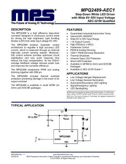 MPQ2489DQ-AEC1-LF-P Datasheet