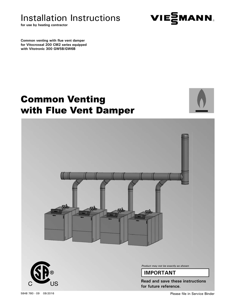 Common Venting With Flue Vent Damper Exhausto Fan Wiring Schematic 018252117 1 A55d3940c6342368292178c4afba61b3