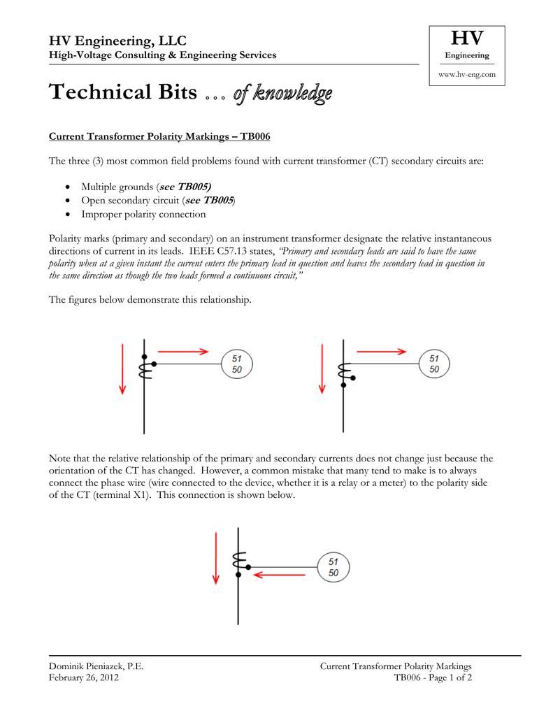 TB006  - HV Engineering, LLC