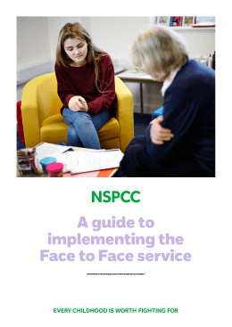 A guide to implementing the Face to Face service
