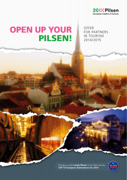 OPEN UP YOUR PILSEN!