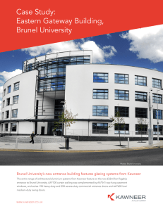 Case Study: Eastern Gateway Building, Brunel University