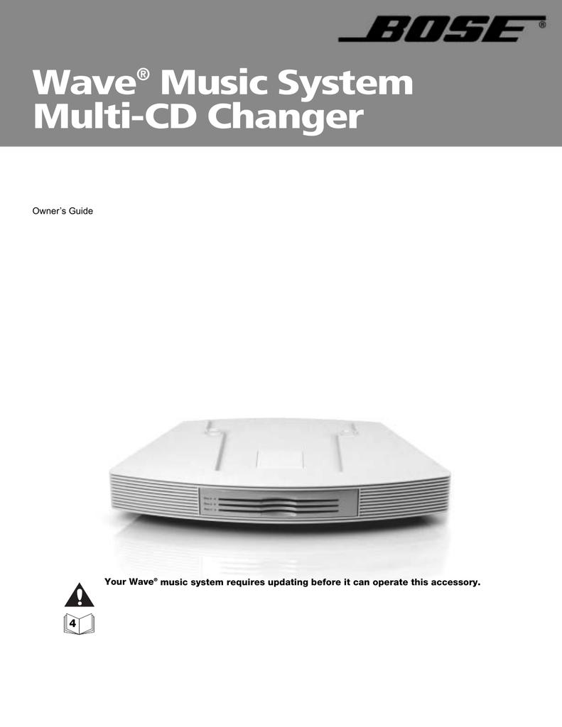 Wave® Music System Multi-CD Changer