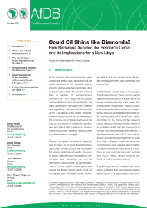 Could Oil Shine like Diamonds?