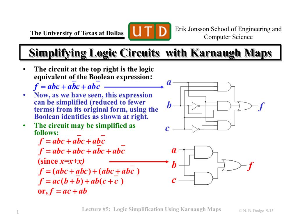 Logic Diagram Karnaugh Map Wiring Library Of A Circuit Simplification Using Maps