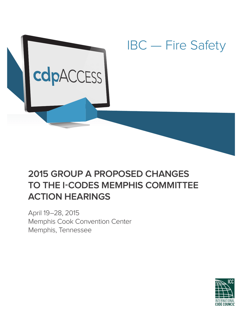 IBC — Fire Safety - International Code Council