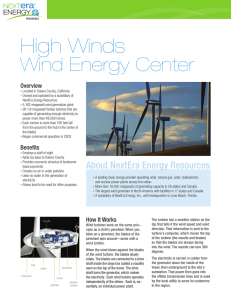 High Winds - NextEra Energy Resources
