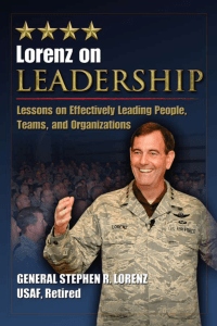 Lorenz on leadership : lessons
