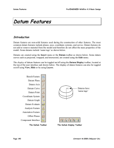 Datum Features