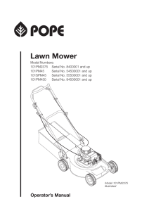 Pope Lawn Mower
