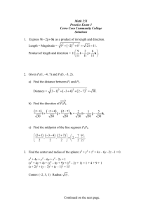 Practice Exam 1 Solutions - Cerro Coso Community College