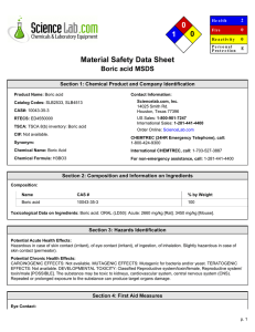 1 2 0 Material Safety Data Sheet