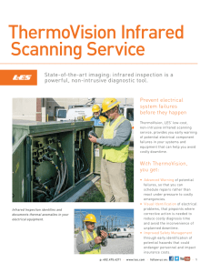 ThermoVision Infrared Scanning Service brochure
