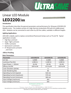 LED2200/xx - Ultrasave