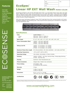 EcoSpec® Linear HP EXT WW Mono Specification Sheet