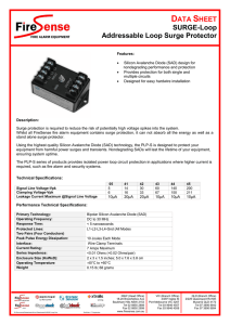 SURGE-Loop Addressable Loop Surge Protector