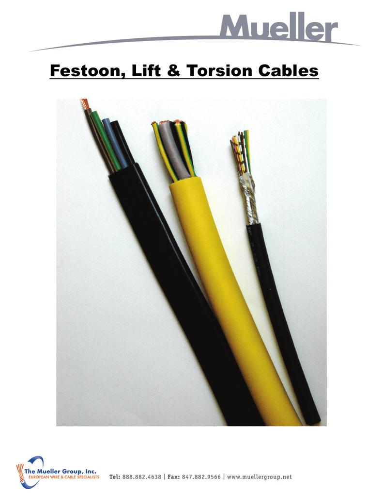 Festoon / Crane / Handling Cable Catalog