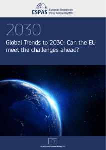 Global Trends to 2030: Can the EU meet the challenges