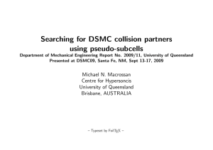 Searching for DSMC collision partners using pseudo