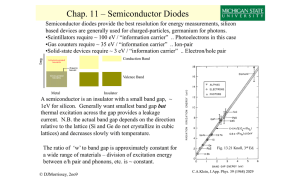 Chap. 11 – Semiconductor Diodes