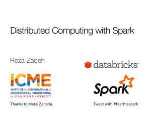 Distributed Computing with Spark