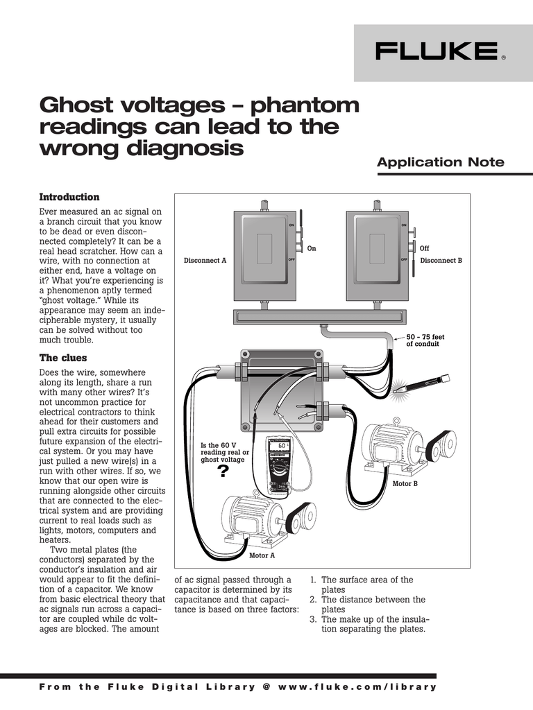 Ghost voltages – phantom readings can lead to the wrong