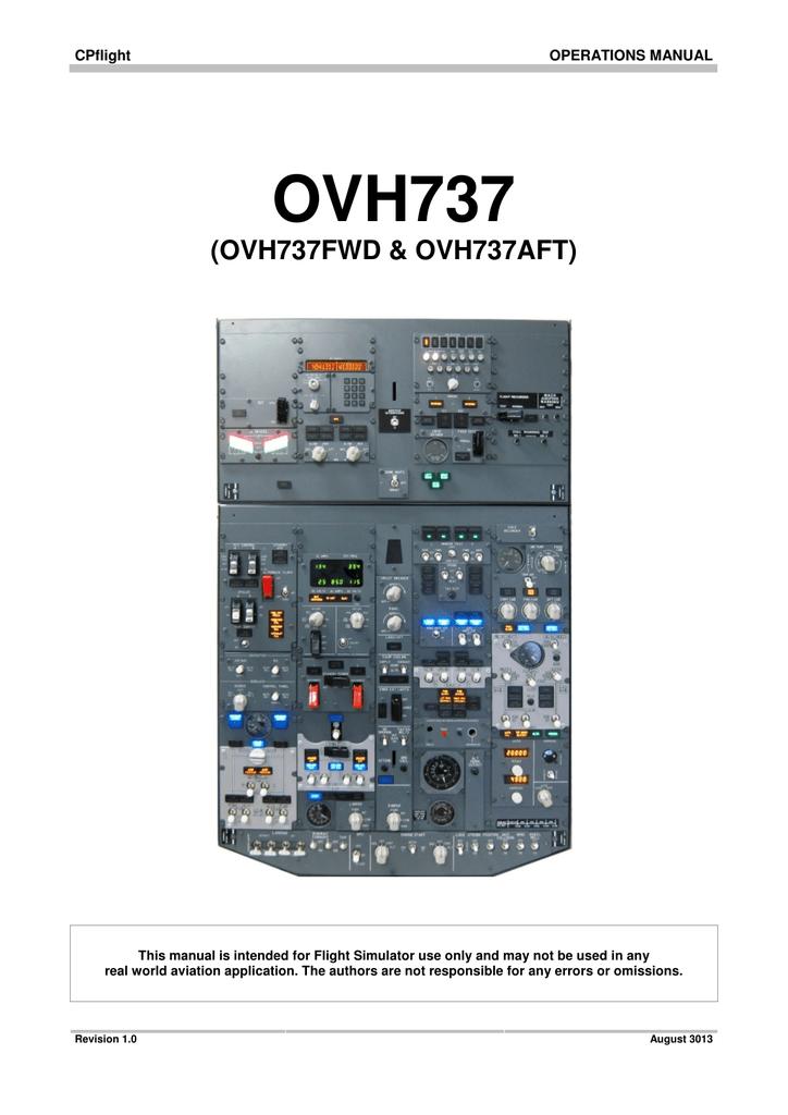 OVH737 - CPFlight
