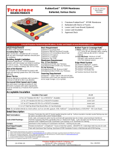 RubberGard™ EPDM Membrane - Firestone Building Products