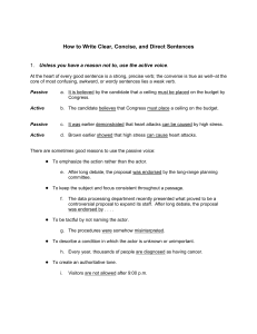 How to Write Clear, Concise, and Direct Sentences