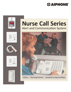 Nurse Call Series