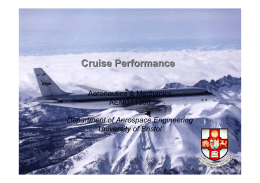Cruise Performance - University of Southampton