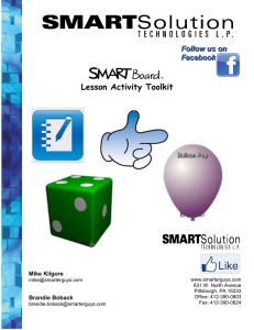 Lesson Activity Toolkit - West Liberty University