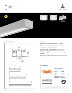 Dart™ - Focal Point Lights