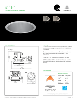 id® 6 - Focal Point Lights