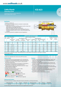 Hawke ICG 623 Cable Gland