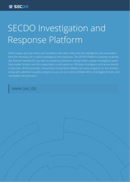 SECDO Platform White Paper -