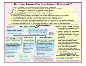 """A slide summary of the ""Ashley Treatment"""""