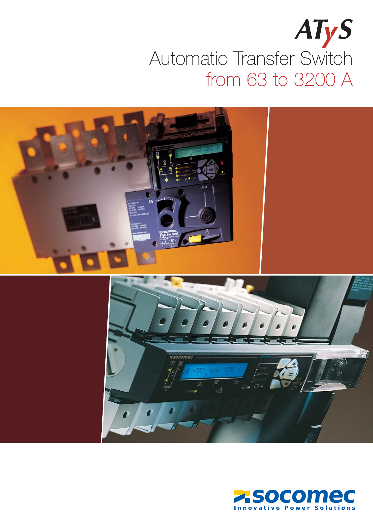 Pleasing Automatic Transfer Switch From 63 To 3200 A Wiring Database Pengheclesi4X4Andersnl