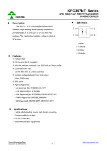 Cosmo 2010 4n35 Datasheet Download