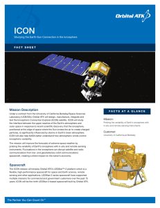 Mission Description Spacecraft