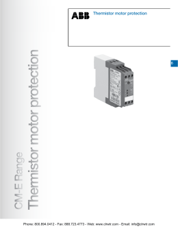 Weidmuller w series terminal blocks accessories for Abb motor protection relay catalogue