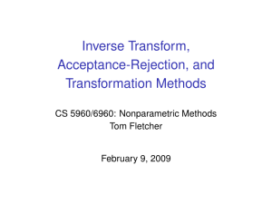 Inverse Transform Method