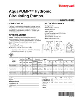 68-3091-02 - AquaPUMP Hydronic Circulating Pumps