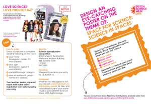 LOVE SCIENCE? - British Science Week 2017