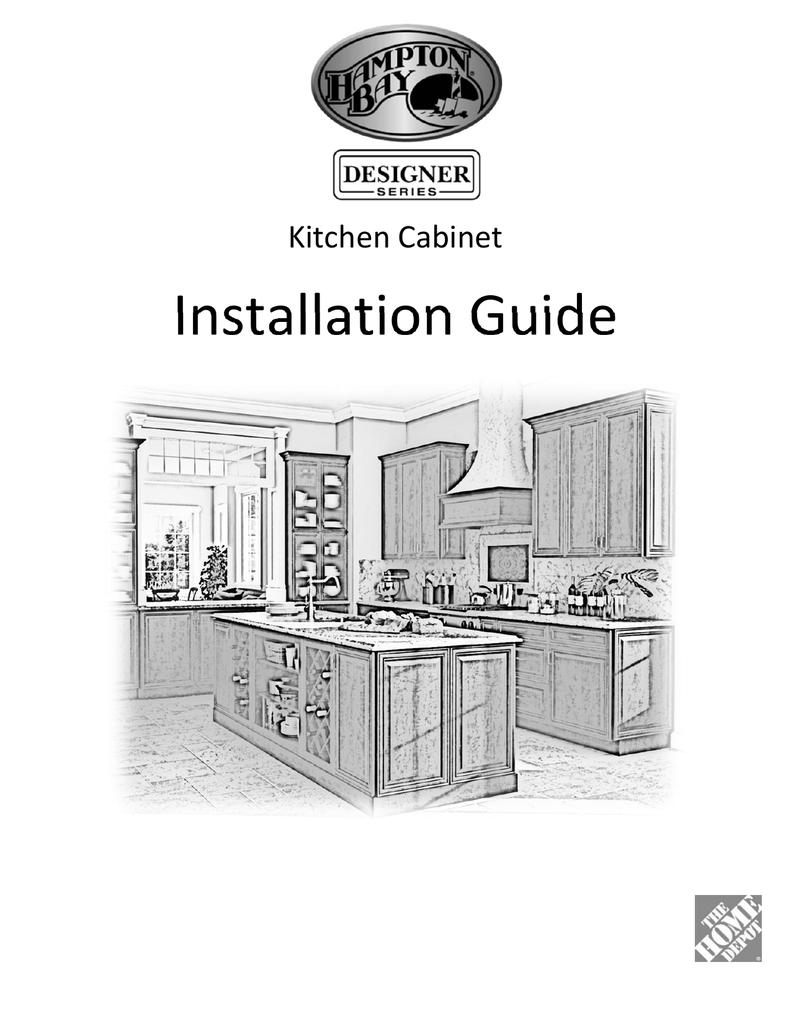 Hampton Bay Designer Series Installation Guide