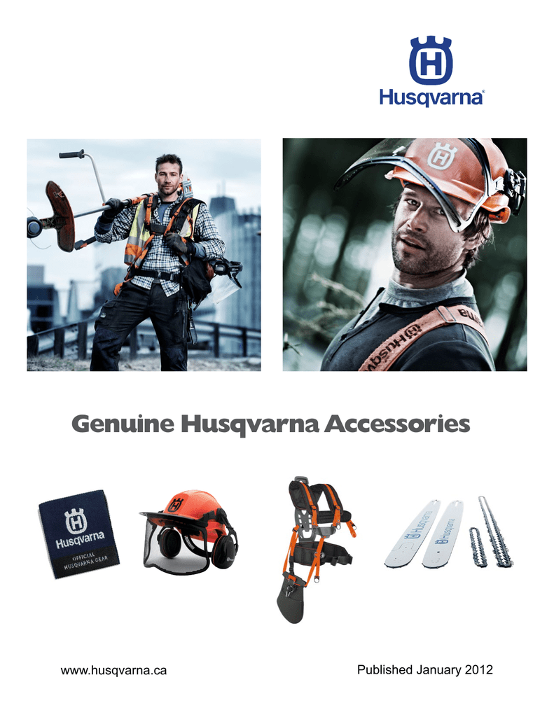 Genuine Husqvarna Accessories